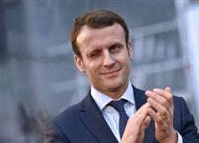 法国总统马克龙演讲