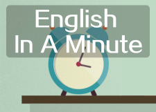 VOA: English In A Minute