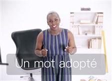 Un mot adopté