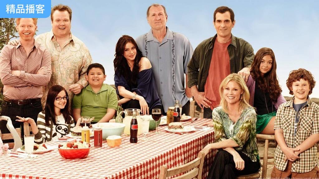 《摩登家庭》美剧讲解,暖心家庭欢乐日常