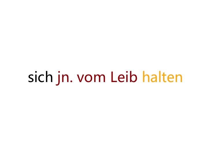 """今天不开心,来学学""""莫挨老子""""用德语怎么说?"""