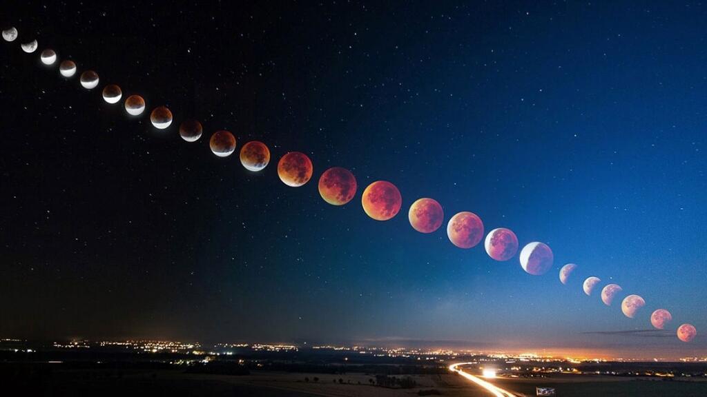 今天晚上會有半影月食哦!月食怎么來的呢?