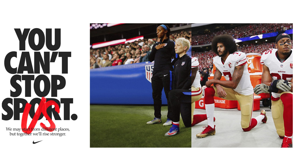 Nike最新公益短片《You Can't Stop Us》,神剪辑