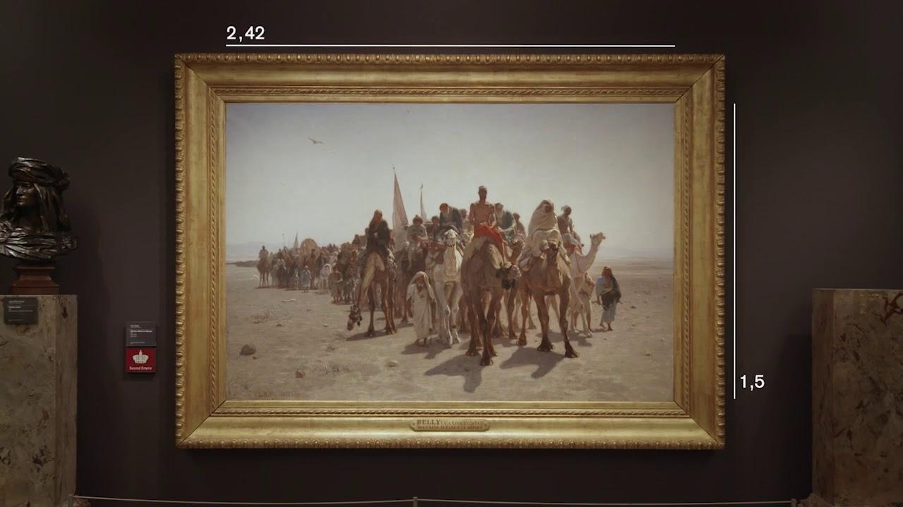 去巴黎奥赛博物馆看看东方主义的画作🖼️