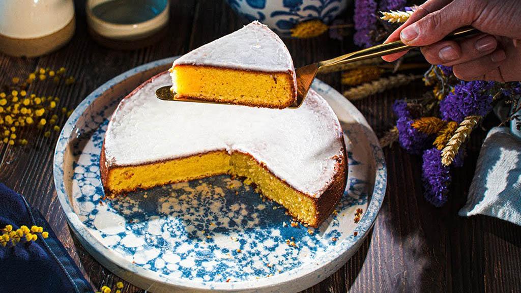 法国小哥手把手教你做零失败的南特蛋糕(ˉ﹃ˉ)
