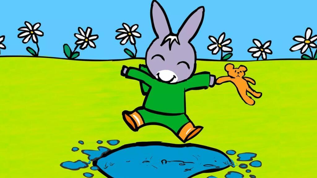 法语初学者:下雨了吗,跟小驴托托一起出门踩踩水吧~