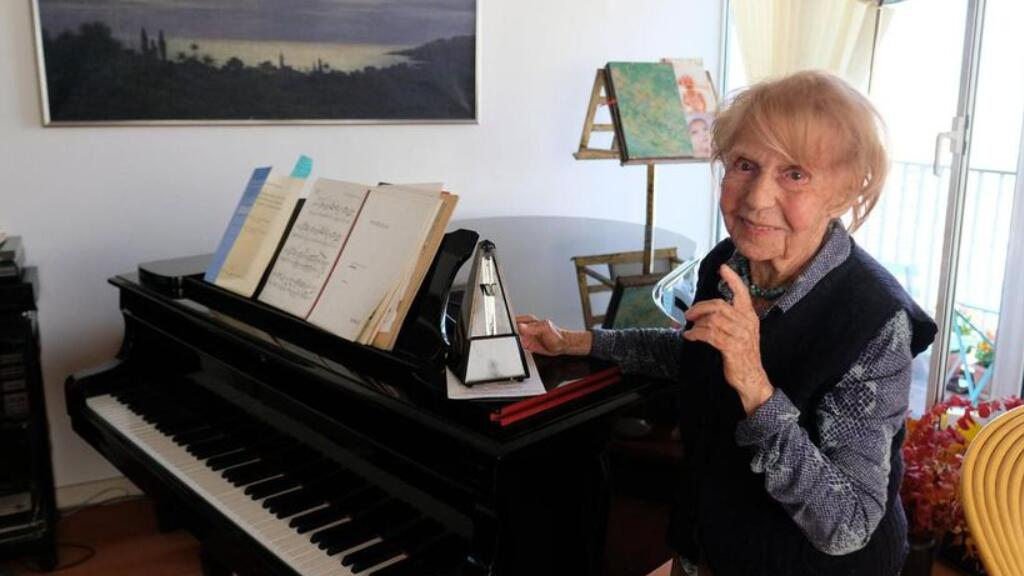 106歲高齡的法國鋼琴家Colette Maze,來看看她的人生哲理…
