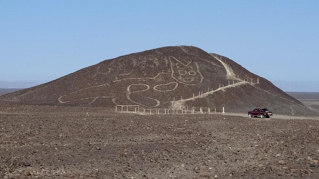 秘鲁发现猫形地画,探寻纳斯卡线的前世今生