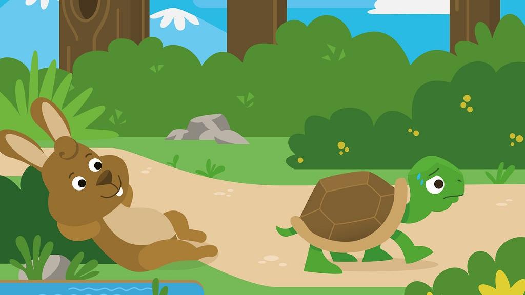 如何用西语讲龟兔赛跑的故事🤔