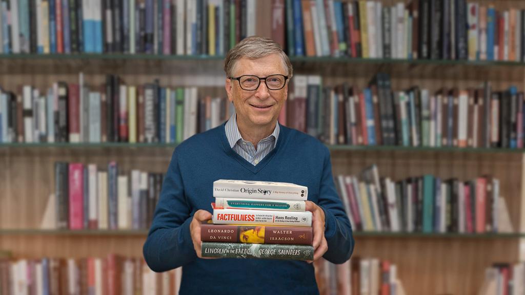 看过的书一眼就忘?比尔·盖茨教你打造记忆体系📚