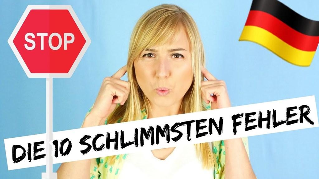 德国学习者犯下的十大错误!测试一下自己吧!