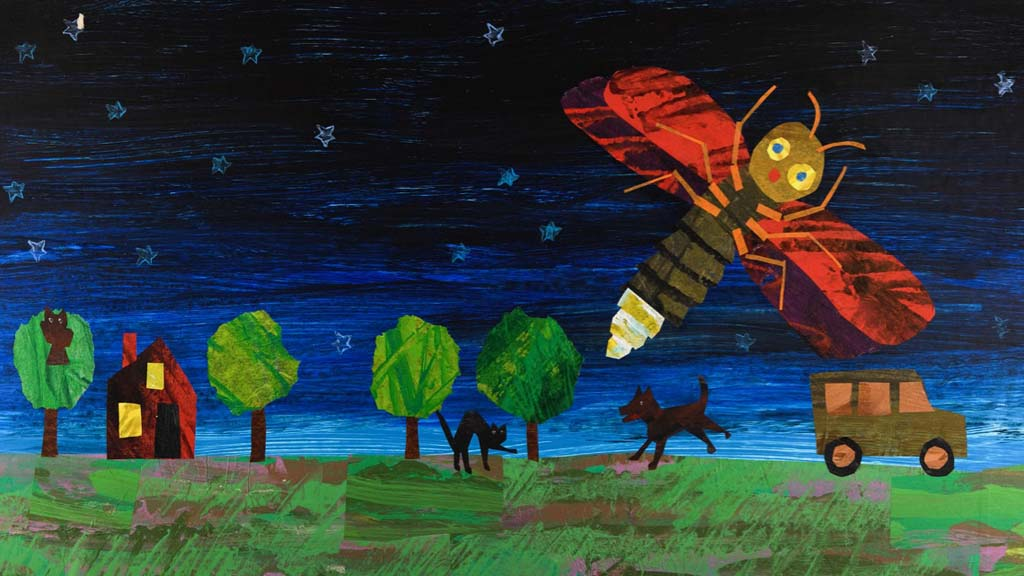 少儿故事时间:卡尔爷爷经典绘本《孤独的萤火虫》