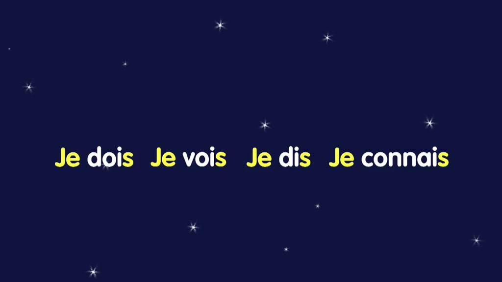 法语小白必看动画:je的三组动词变位,结尾都是什么字母呢?