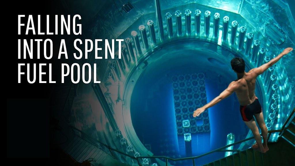 脑洞大开:如果掉进核反应堆燃料池会发生什么🧐