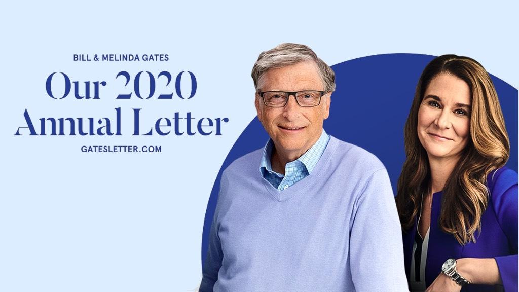 盖茨夫妇发布2020年度公开信:回顾基金会成立20年