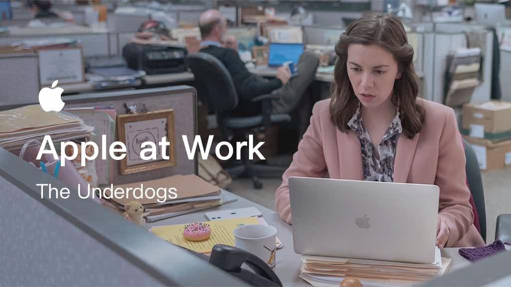 苹果创意广告片:员工竟然做起了披萨盒?