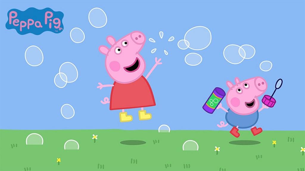 轻松一刻:一起跟小猪佩奇学西语吧📺