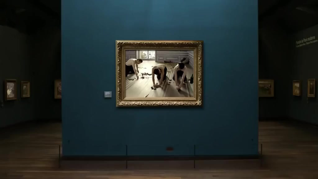 【奇趣美术馆】如果美术馆里的名画中人物动起来会怎么样……