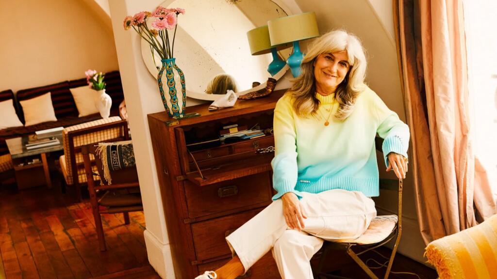 法国奶奶Sophie Fontanel | 她真实诠释着女性优雅老去的魅力